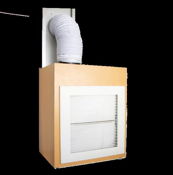 Cirrus ME簡易陰圧・排気システム EVU-75b